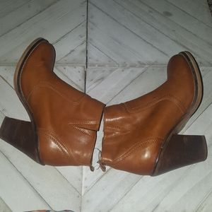 Steven By Steve Madden Leather Boots Size 7
